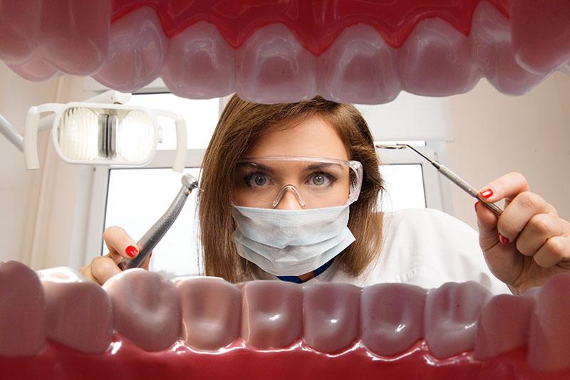Enxerto de osso para implante dentário